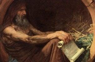 Cynikern Diogenes