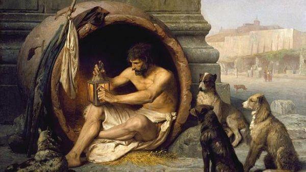 Diogenes i sin tunna