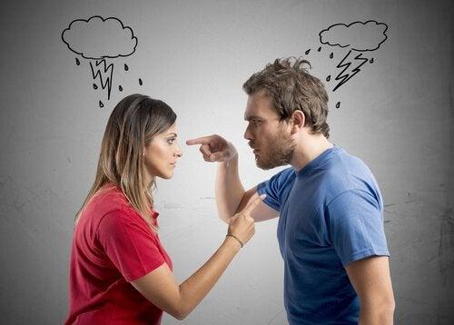 Grälande par