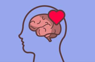 Hjärna med hjärta