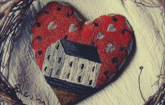 Hjärta med hus