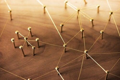 Nätverk av trådar