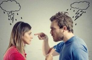 Par med giftiga beteenden