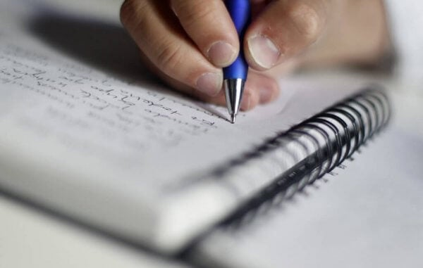 Skriv ned vad du studerar