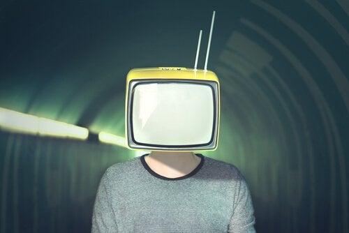 TV som huvud