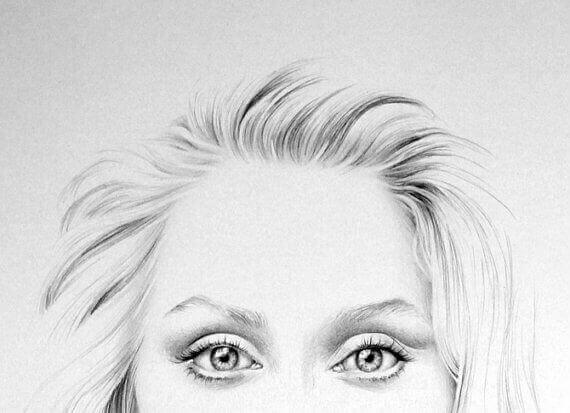 Teckning av Streep