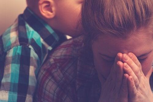 Utmattade mödrar och utbrändhetssyndrom