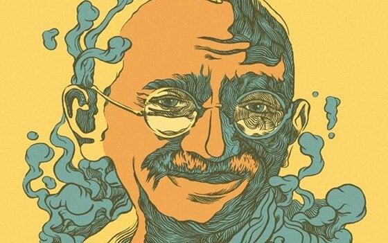 bild av Mahatma Gandhi