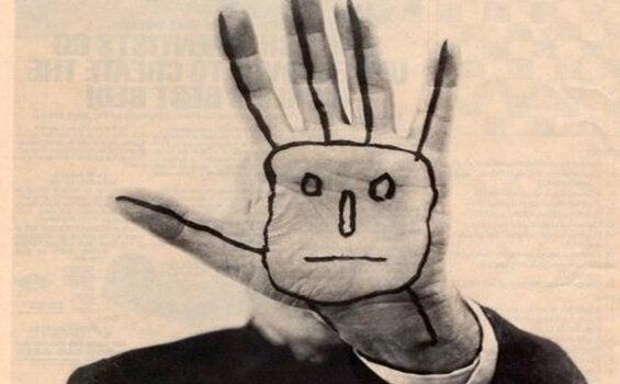 Målad hand