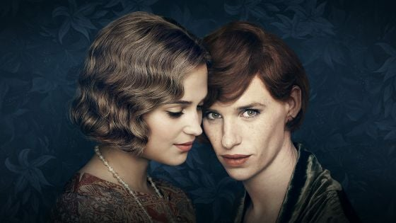 Porträtt av The Danish Girl.
