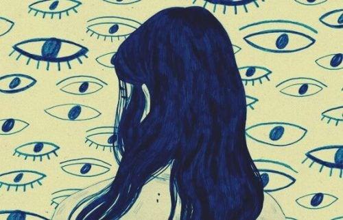 Ångest leder till en förvrängd verklighet
