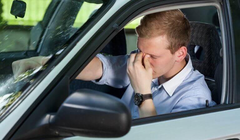 Ångest vid bilkörning