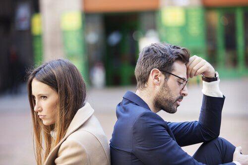 När man är trött på att alltid gräla med sin partner
