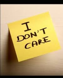 Jag bryr mig inte