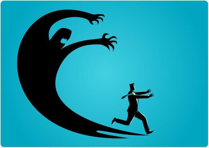 Jagad av rädslor