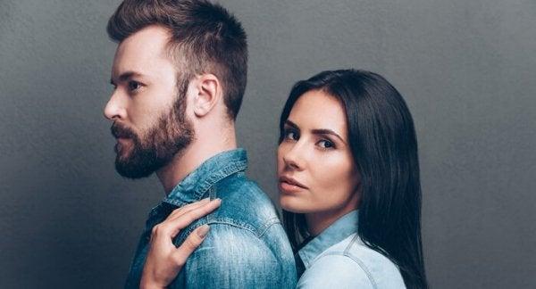 Kvinna och man