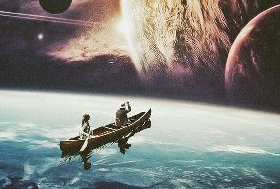 Paddlar mot rymden