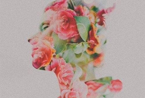 Profil av blommor
