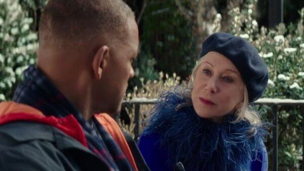 Helen med Howard i Collateral Beauty.