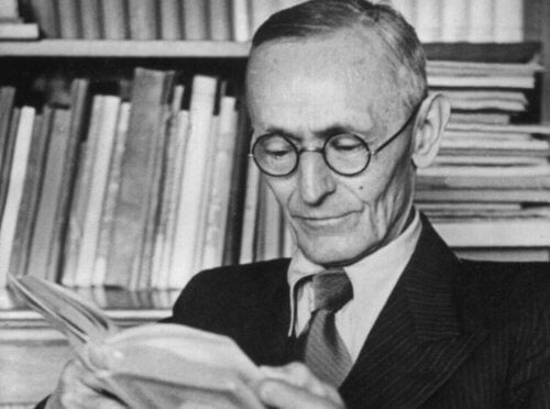 Hermann Hesse med Stäppvargen