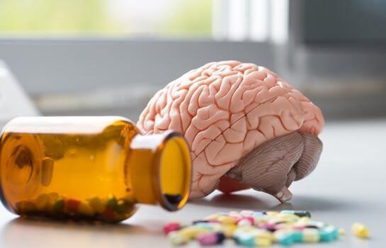 Hjärna och vitaminer.
