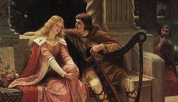 Karl den store och fru.