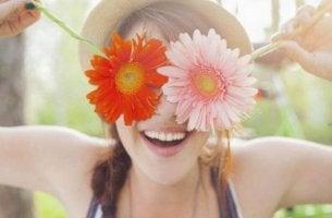 Var positiv för att älska dig själv.