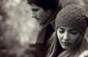 Då kärleken tar slut mellan dig och din partner.
