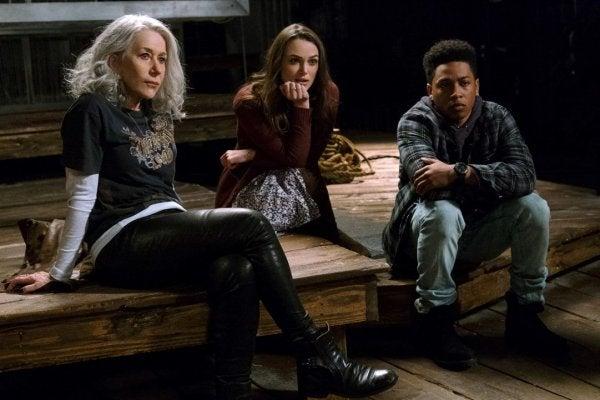 Tre personer från filmen.
