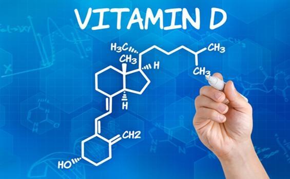 Vitamin D kemisk struktur.