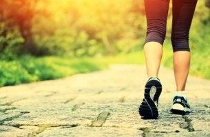 Att promenera som träning