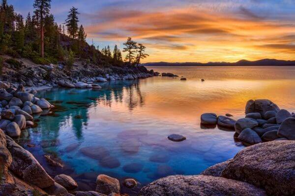 En vacker sjö
