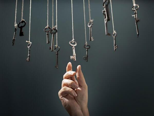 Hängande nycklar