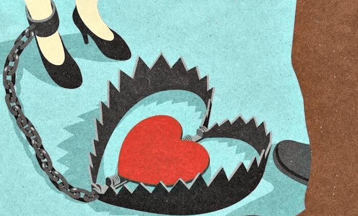 Förhållandemissbrukare – känslomässiga slavar