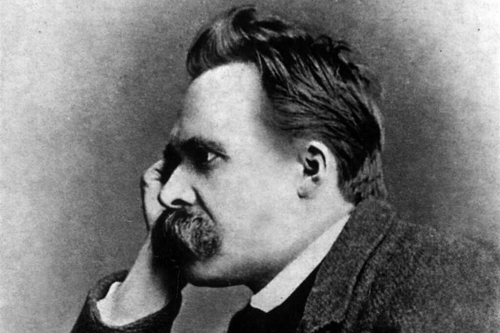 Porträtt av Nietzsche
