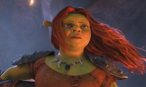 Prinsessan Fiona är sin egen hjältinna