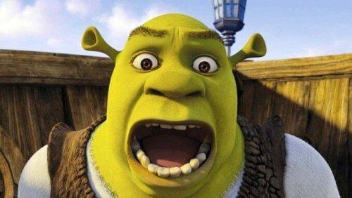 Skrikande Shrek