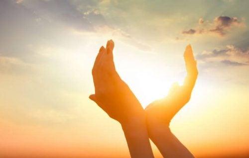 Sol i händer