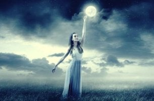 Månen påverkar våra känslor och vårt humör.