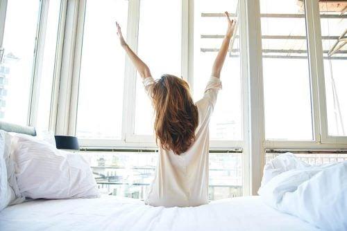 6 tips för att sluta vakna upp trött på morgonen