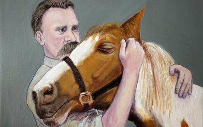 Nietzsche kastade sig gråtande om halsen på en häst