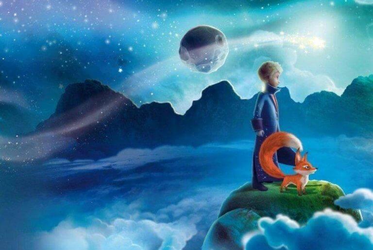 Prinsen som tittar mot horisonten.