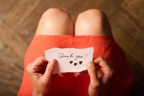 3 övningar för att främja tacksamhet