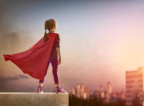 Hon kommer alltid att vara min superhjälte