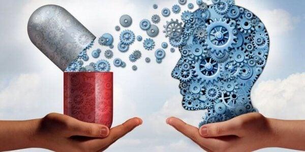 Mediciner för hjärnan.