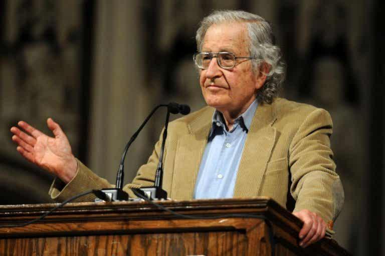 Min familj vet inte vem Noam Chomsky är