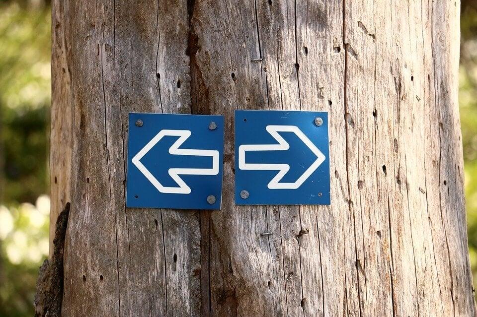 Vilken väg ska vi välja för att undvika rädsla?