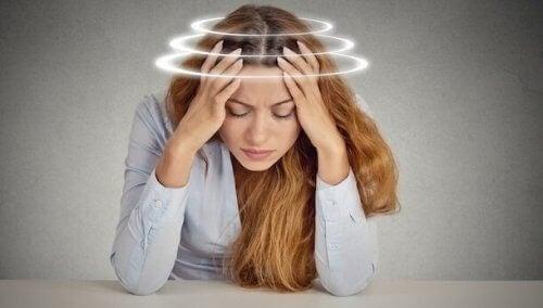 snurrig i huvudet stress