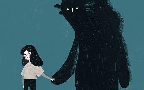 Hand i hand med rädsla