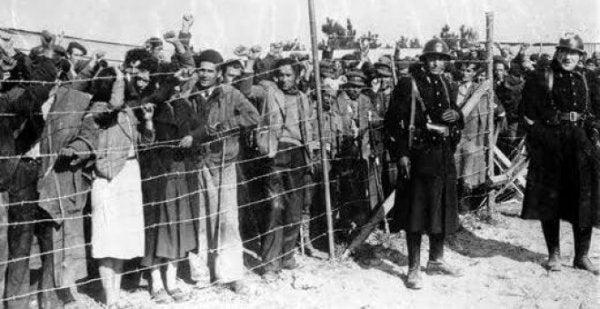 flyktingarnas drama - spanska inbördeskriget